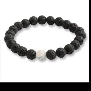 Jewelry - GORGEOUS LAVA ROCK BRACELET NEW